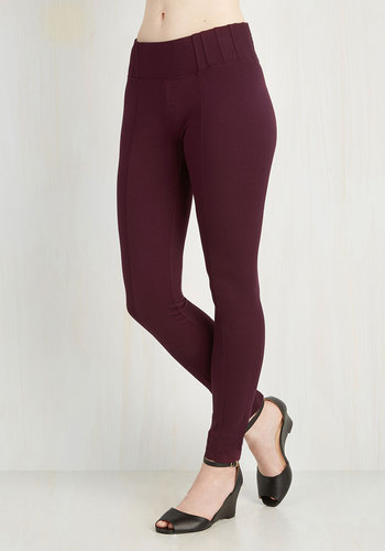 Can You Gig It? Pants in Cranberry