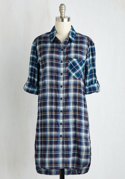 Friday, Plaid-urday, Sunday Tunic