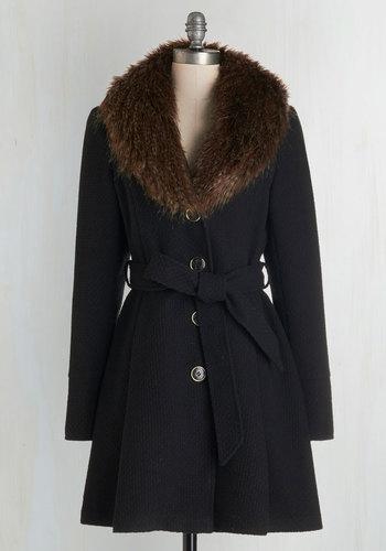 Straight Plush Coat