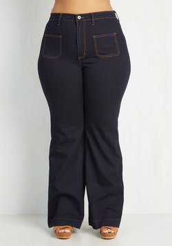 Weekend Folk Festival Jeans in Plus Size