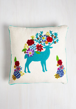 Deer And Now Pillow