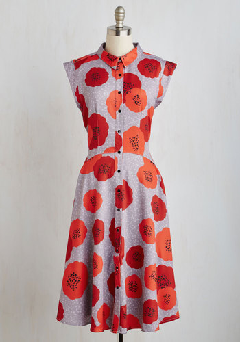 Come on, Get Poppy Dress