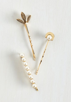 Up Bright and Pearly Hair Pin Set