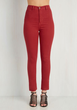 Gotta Jet Set Jeans in Red
