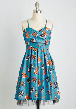 Gallant Gusto Dress in Critters