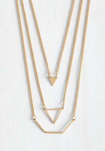 Let's Shape on It Necklace