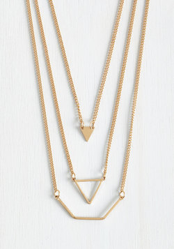 Let's Shape on It Necklace