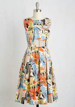 Walk Down the Isle Dress in Cosmopolitan