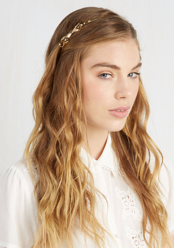 Uncommon Character Headband - Gold, Solid, Bows, Good, Urban, Minimal, Exclusives, Top Rated