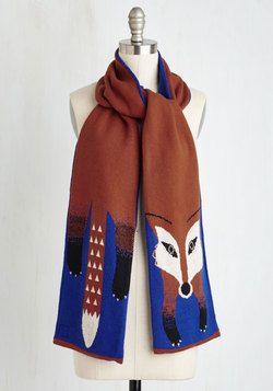 Outfox the Eye Scarf in Royal