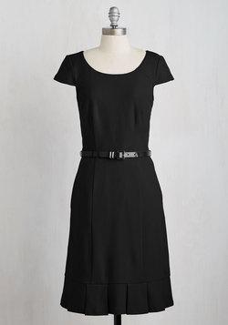 My Byline of Work Dress in Black