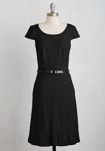My Byline of Work Dress in Black