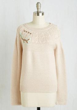 Perch Hard, Play Hard Sweater