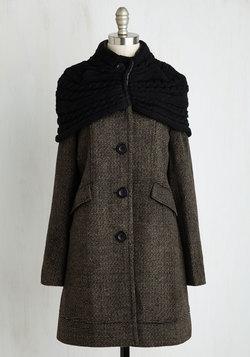 Shawl I Dream Of Coat in Mocha