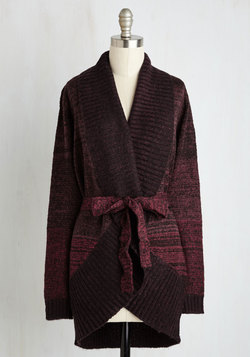 Right Time and Fireplace Cardigan