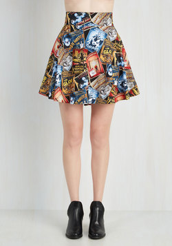 Feeling Playful Skirt in Scary Movies