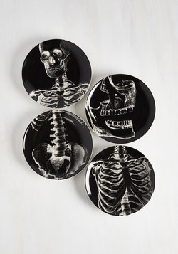 Macabre and Cheese Plate Set