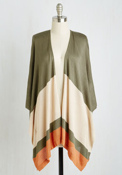 With Drape Success Cardigan