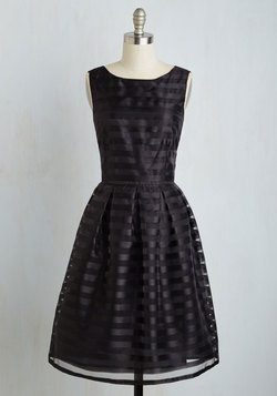 Dinner and Romancing Dress in Black