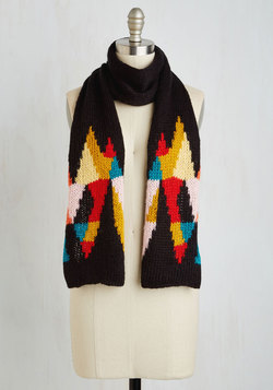 Kaleidoscope Out the Scene Scarf