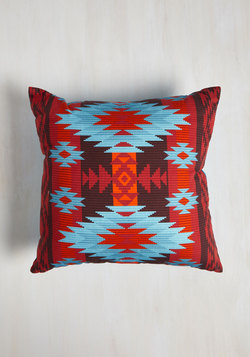 Throw in Some Geo PIllow