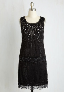 Philharmonic of Time Dress in Black