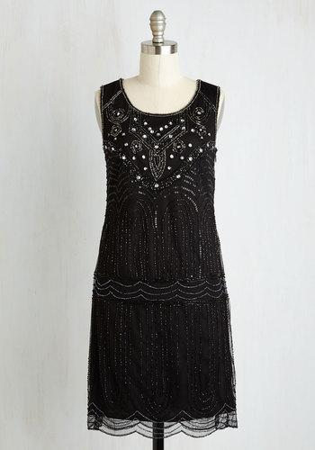 Philharmonic of Time Dress in Black $169.99 AT vintagedancer.com