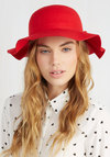 Oh Classy Day Hat in Scarlet