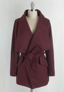 Preferred Pairing Coat in Merlot
