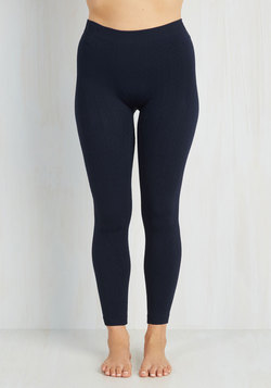 Send Me a Texture Leggings in Navy