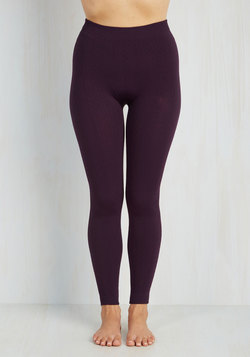 Send Me a Texture Leggings in Plum
