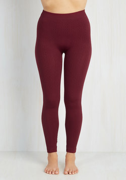 Send Me a Texture Leggings in Wine