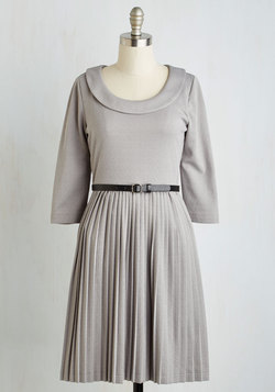 Presentation Perfection Dress in Slate