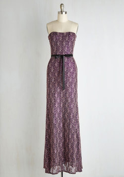 Dash of Flashy Dress in Amethyst