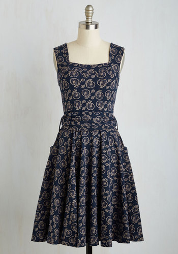 Guest of Honor Dress in Bicycles $94.99 AT vintagedancer.com