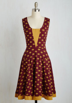 Sailboat-load of Fun Dress in Buttons