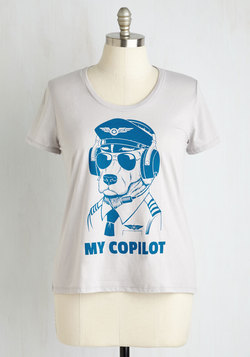 This Is Your Captain Barking Tee - 1X-4X