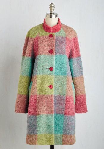 Retro Vintage Style Coats, Jackets, Fur Stoles To the Zest of My Knowledge Coat $299.99 AT vintagedancer.com