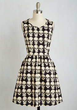 Down to the Flair Bones Dress