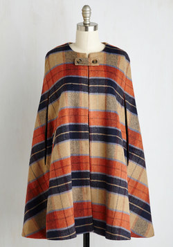 Darling Detective Work Cape in Paprika