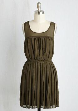 Pleats to Meet You Dress