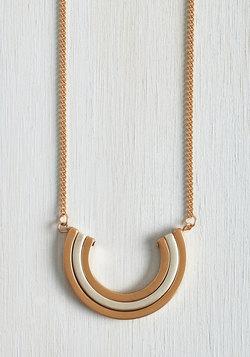 Pleasant Crescent Necklace