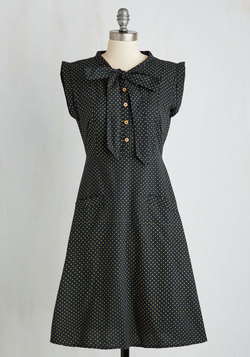 Carry On with Confidence Dress in Dots