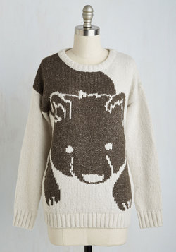 From Here to Bear Sweater