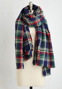 Chillin' Haute Scarf in Navy