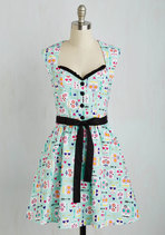 Quick on your Sweet Dress | Mod Retro Vintage Dress