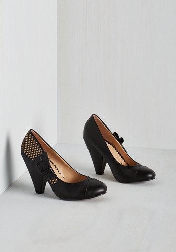 Flamenco With the Flow Heel $84.99 AT vintagedancer.com