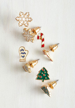 In It For the Long Holiday Earring Set