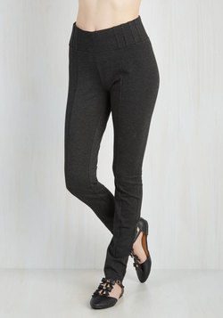 Can You Gig It? Pants in Charcoal