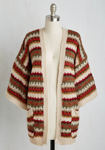 Well Cello There Cardigan $54.99 AT vintagedancer.com